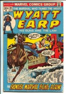 Wyatt Earp #30 1972-Marvel-Stan Lee-Dick Ayers-Al Williamson-G/VG