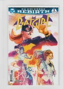 Batgirl #1 NM 9.4 DC Universe Rebirth