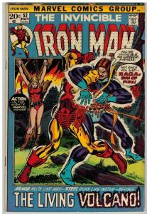 IRON MAN 52 VG Nov. 1972