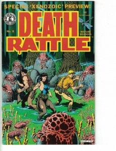 Death Rattle Vol. 2 #8 1st appearance of  Xenozoic Tales (Cadillacs & Dinosaurs)