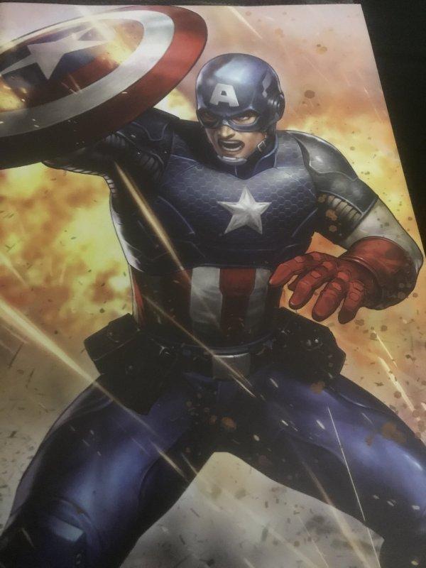 Marvel Captain America #11 Variant Mint