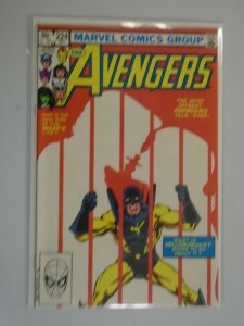 Avengers #224 Direct edition 8.5 VF+ (1982 1st Series)