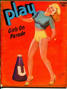 Play Girls On Parade 10/1944-cheesecake Janes pin-up cover-spicy girls-VG+