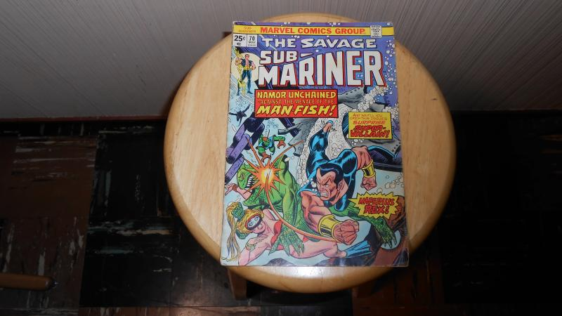 THE SAVAGE SUB-MARINER # 70 (MAY 1974)