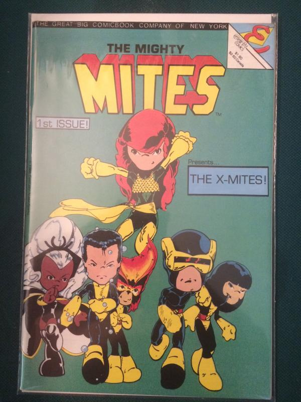 The Mighty Mites #1 featuring The X-Mites!