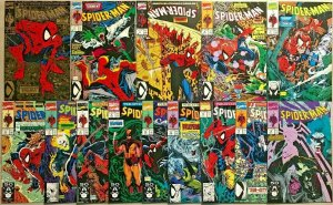 SPIDER-MAN#1-14 VF/NM LOT 1990  TODD MCFARLANE MARVEL COMICS