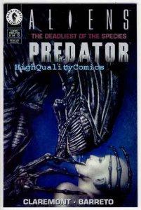 ALIENS vs PREDATOR : DEADLIEST of the SPECIES #8, Horror, NM , more AvP in store