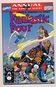 Fantastic Four / Guardians of the Galaxy #24 Marvel Comics 1991 ~ VF/NM (HX473)