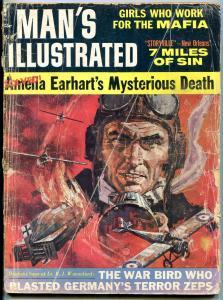 Man's Illustrated Magazine 5/1961-AMELIA EARHART-WHIPPING-ZEPELIN FR