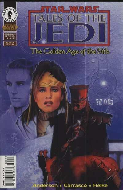 Star Wars: Tales of the Jedi-The Golden Age of the Sith #3, NM- (Stock photo)