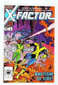 X-Factor (1986 series) #1, VF+ (Actual scan)