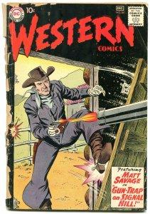 Western Comics #84 1960- Matt Savage- Pow Wow Smith G-