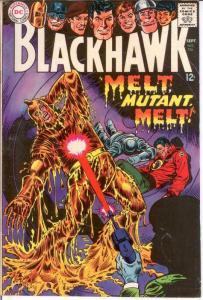 BLACKHAWK 236 FINE Sept. 1967 COMICS BOOK
