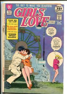 GIRLS' LOVE STORIES #161 1971-DC COMIC-FERRIS WHEEL G