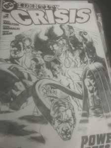 DC Identity Crisis #2 Mint Hot