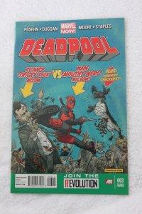 Deadpool #3 3rd Printing  2013]