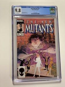 New Mutants 31 Cgc 9.8 White Pages Marvel X-men Copper Age