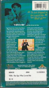 THE SPY WHO LOVE ME VHS   1ST APPEARANCE OF JAWS !