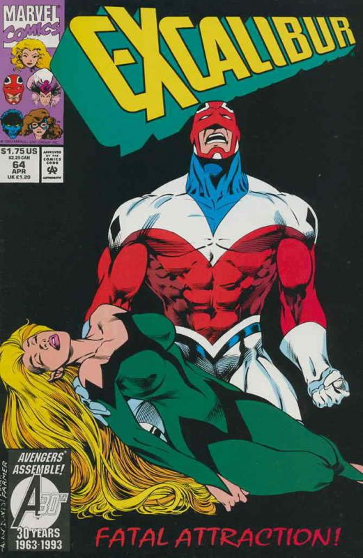 Excalibur #64 FN; Marvel | save on shipping - details inside