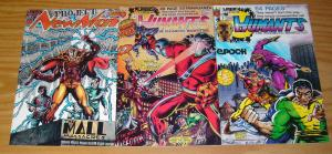 Humants #1-2 VF/NM complete series + project newman #1 - human ants legacy set