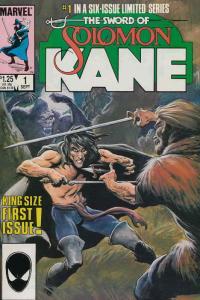 Solomon Kane #1 FN; Marvel | save on shipping - details inside