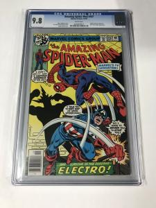Amazing Spider-man 187 Cgc 9.8 White Pages Bronze Age Marvel