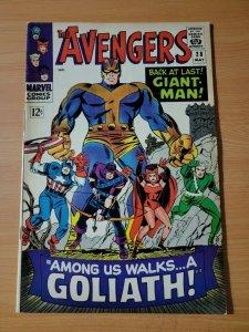 Avengers #28 ~ FINE - VERY FINE VF ~ 1966 Marvel Comics