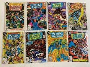 Justice League of America Comic Lot Run#250-261 6.0 FN (1986-1987)