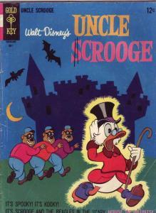 Uncle Scrooge, Walt Disney #63 (May-66) VG Affordable-Grade Uncle Scrooge