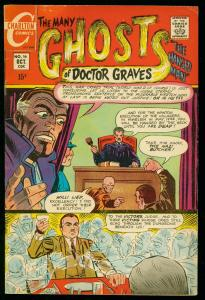 THE MANY GHOSTS OF DOCTOR GRAVES #16 1969-CHARLTON COMICS-DITKO ART- FN