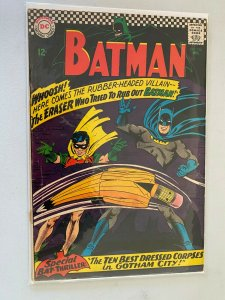 Batman #188 3.0 GD VG cover detached at one staple (1967)