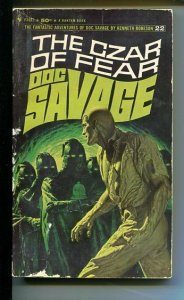 DOC SAVAGE-THE CZAR OF PEACE-#21-ROBESON-G- JAMES BAMA COVER-1ST EDITION G