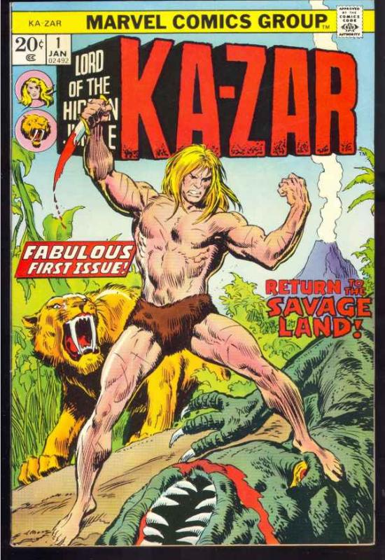 Ka-Zar #1 (Jan-74) VF/NM High-Grade Ka-Zar