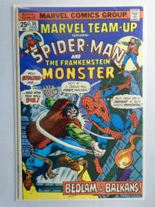 Marvel Team-Up (1st Series) #36, Reminder Mark 5.0 (1975)