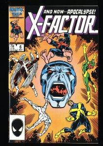 X-Factor (1986) #6 NM 9.4 1st Apocalypse!