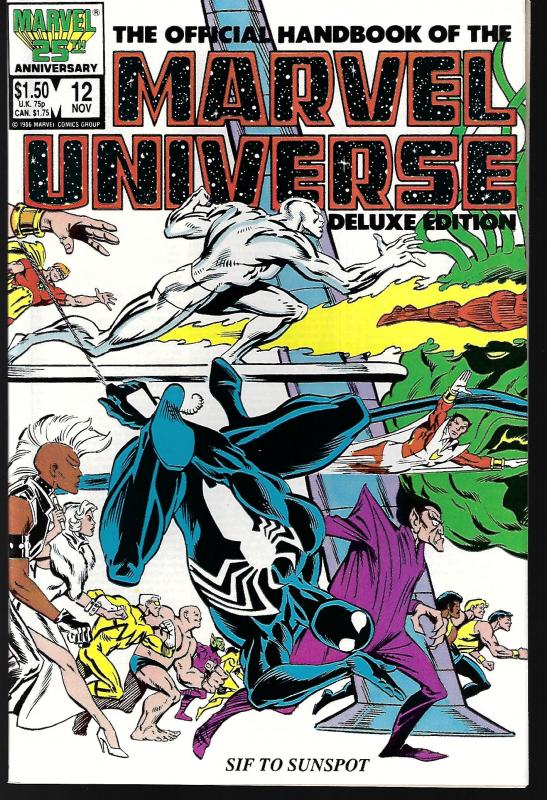 Marvel Universe Deluxe Edition #12