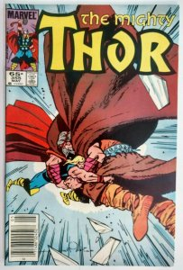 The Mighty Thor #355, MARK JEWELERS EDITION
