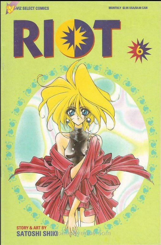 Riot, Act 2 #6 VF; Viz | save on shipping - details inside