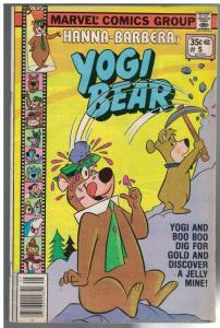YOGI BEAR (1977 MARVEL) 5 G-VG July 1978