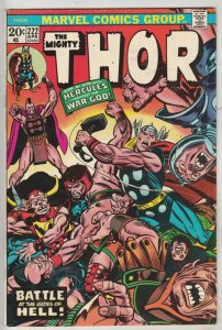 Thor, the Mighty #222 (Apr-74) VF/NM High-Grade Thor