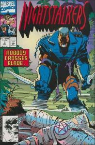 Marvel NIGHTSTALKERS #3 VF/NM