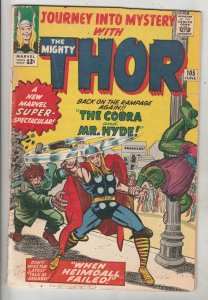 Journey into Mystery #105 (Jun-64) VG+ Afordable-Grade Thor