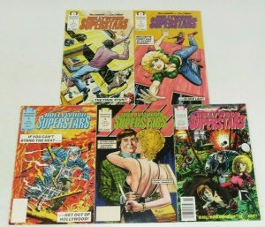 Hollywood Superstars #1-5 FN/VF complete series MARK EVANIER sergio aragones set