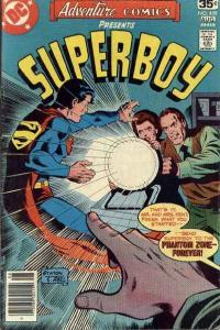 Adventure Comics (1938 series) #458, VG+ (Stock photo)