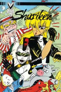 Shuriken (1985 series) #6, NM- (Stock photo)