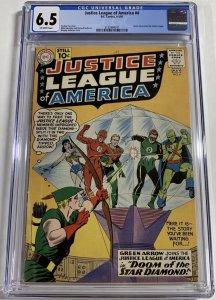 Justice League of America #4 (1961) CGC Graded 6.5 Green Arrow Joins JLA