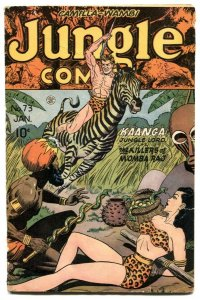 Jungle Comics #73 1945- snake torture cover VG-