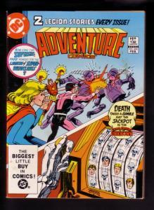 ADVENTURE COMICS #496 1983--LEGION SUPER-HEROES SPECTRE VF