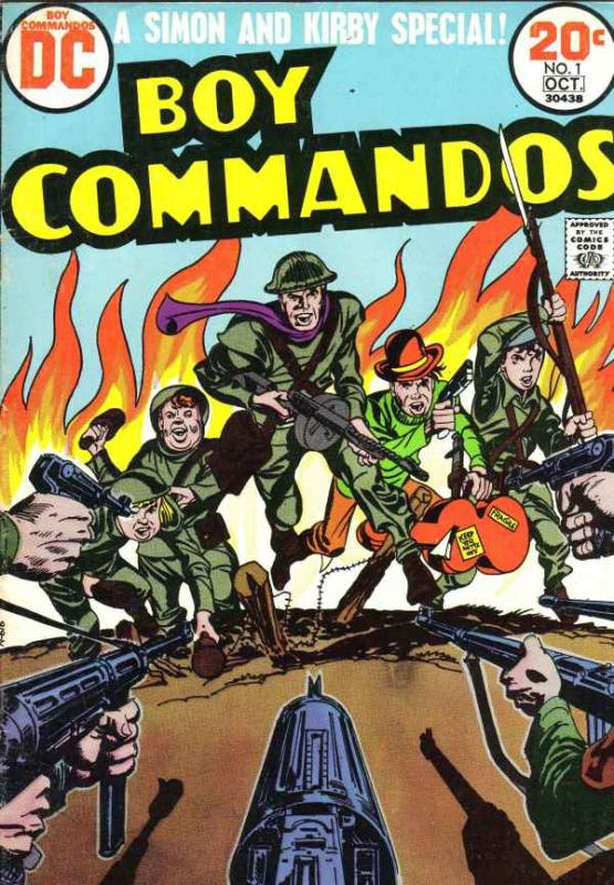 Boy Commandos #1 (Oct-68) FN- Mid-Grade The Boy Commandos