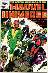 Official Handbook of the Marvel Universe #13 (1984) VF/NM